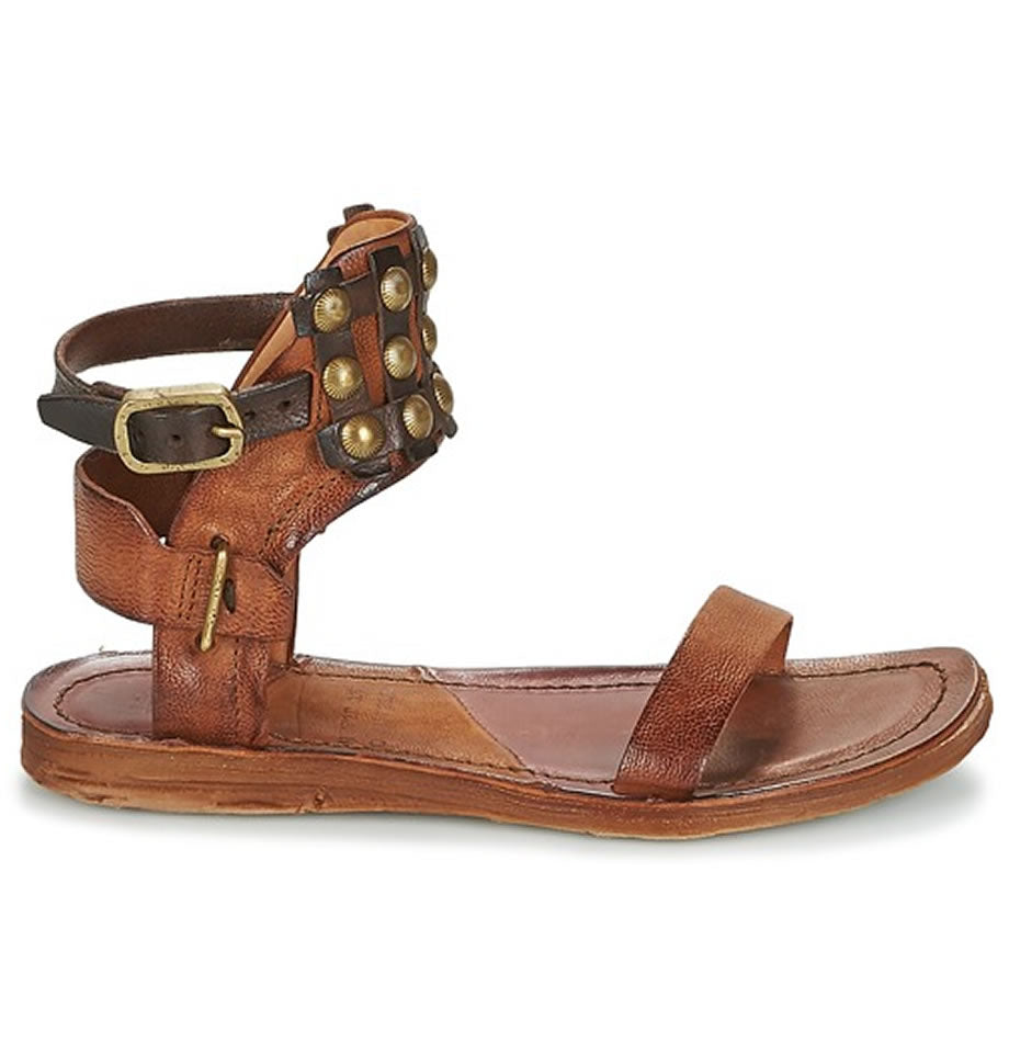 LAST ONE - A.S.98 Castagna and Sangria Gladiator Sandal 534050