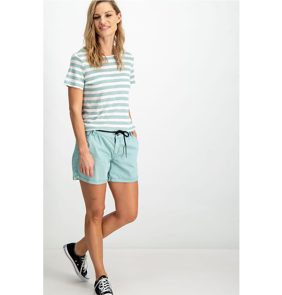 Garcia Ladies Cotton Shorts Perfect Mint GS900112