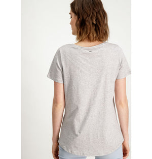 Garcia Ladies Amore T-Shirt Grey A90001