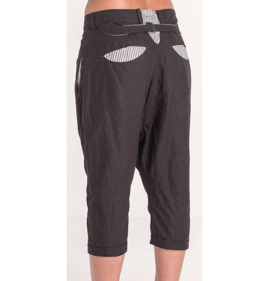 JAYKO Miguel Trousers Black Coffee
