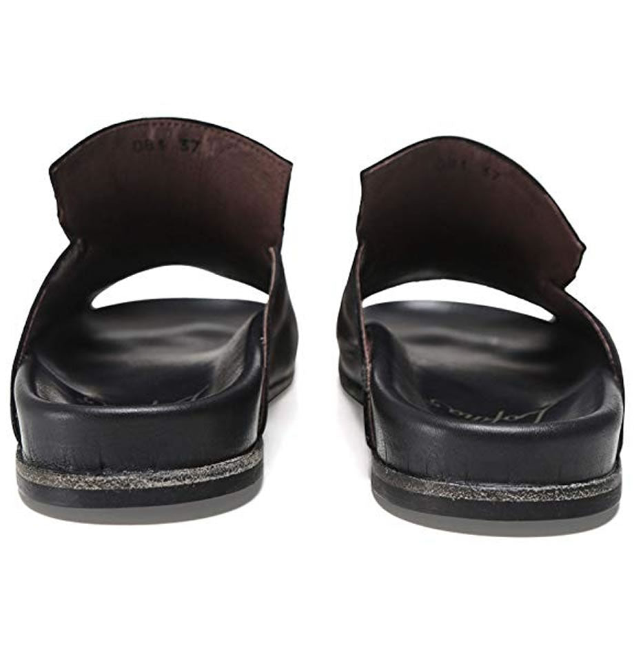 LAST PAIR! Lofina Slider Sandals Gasoline Nero E9-081