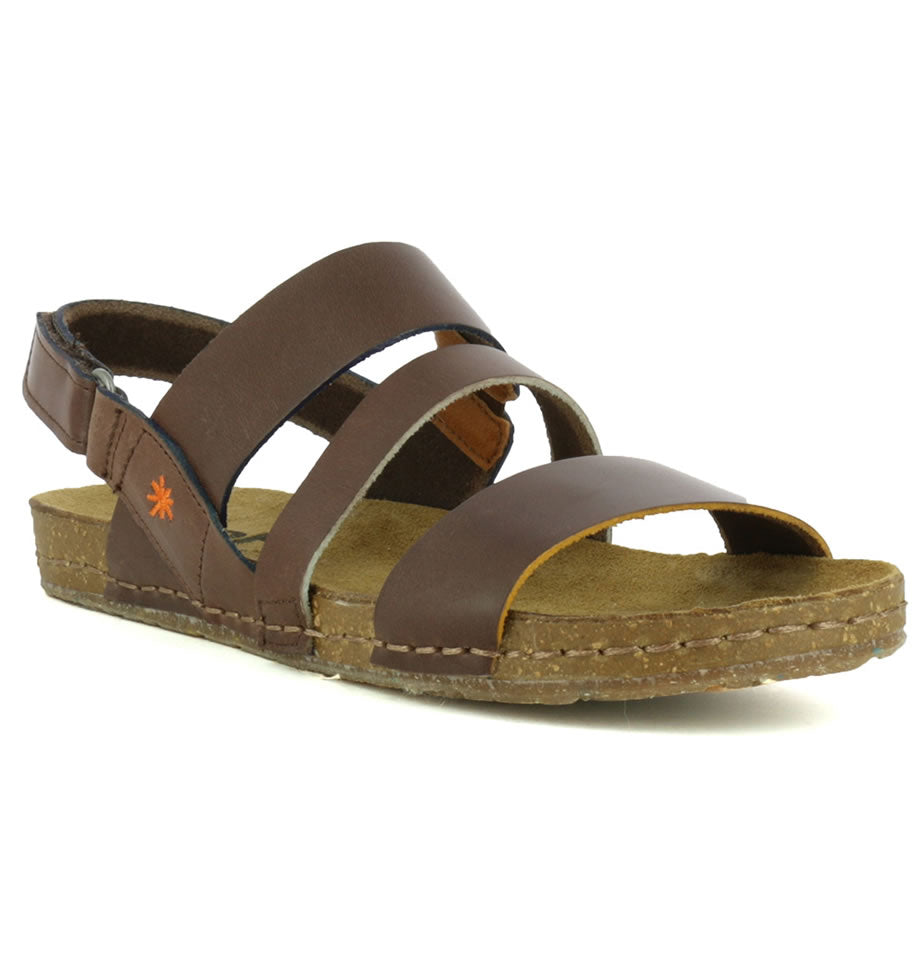 ART Shoes Creta 1252 Vachetta Brown Sandals