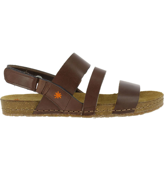 ... ART Shoes Creta 1252 Vachetta Brown Sandals ...