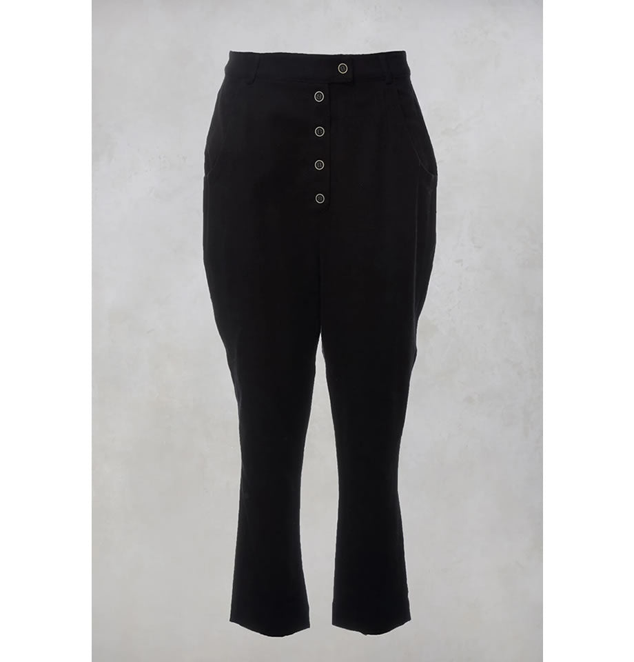 Pondere Wool and Cotton Pantalone