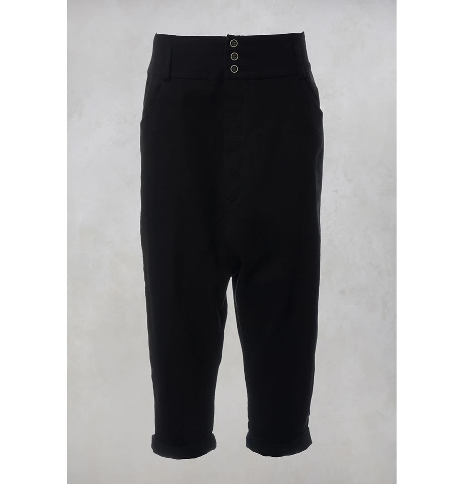 Volubile Wool and Cotton Pantalone