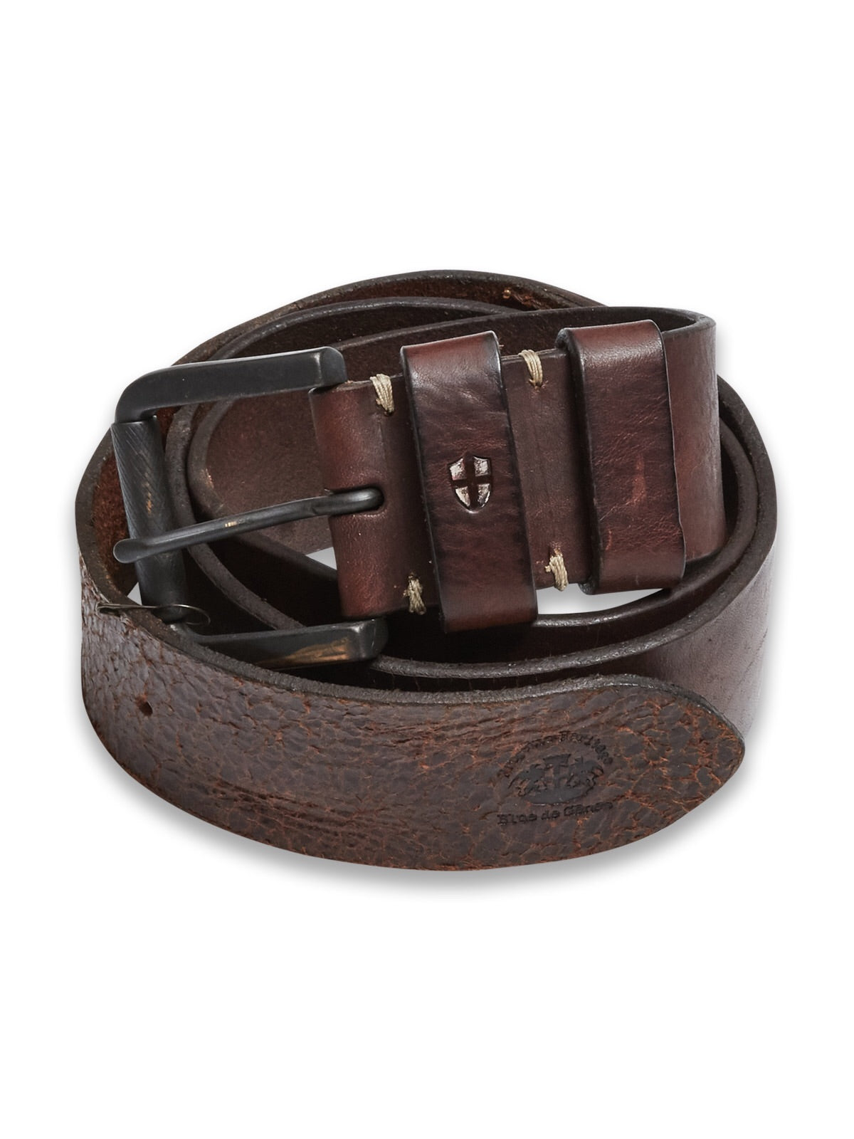 Blue de Genes Piceno Leather Belt
