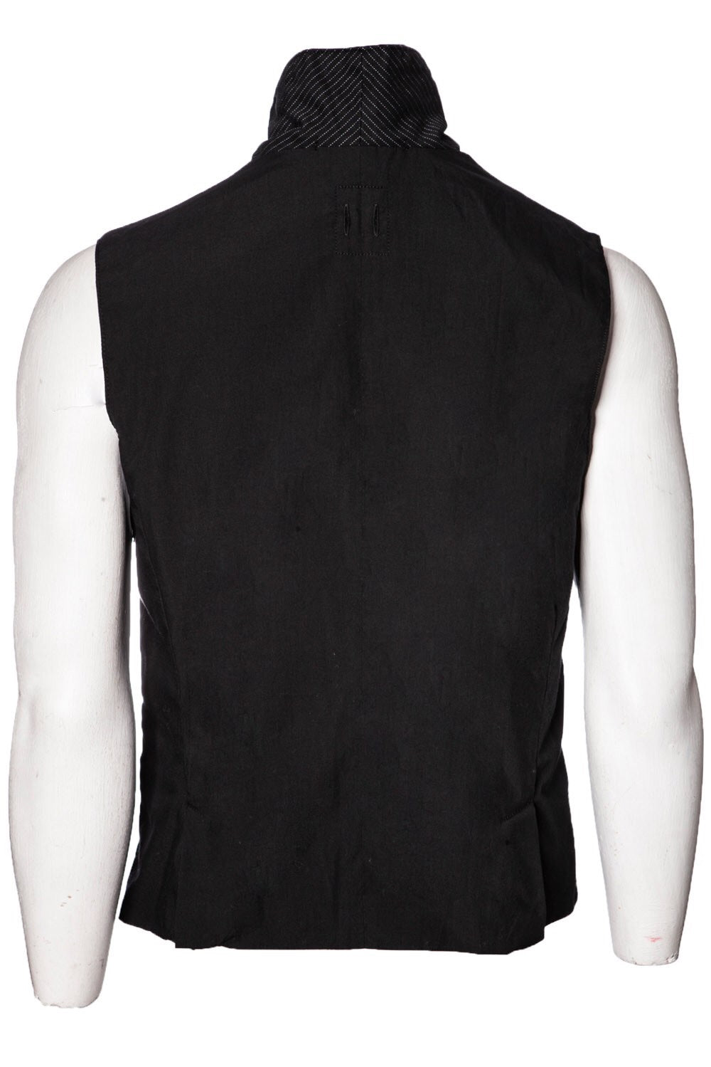Hannes Roether Pinstripe Vest