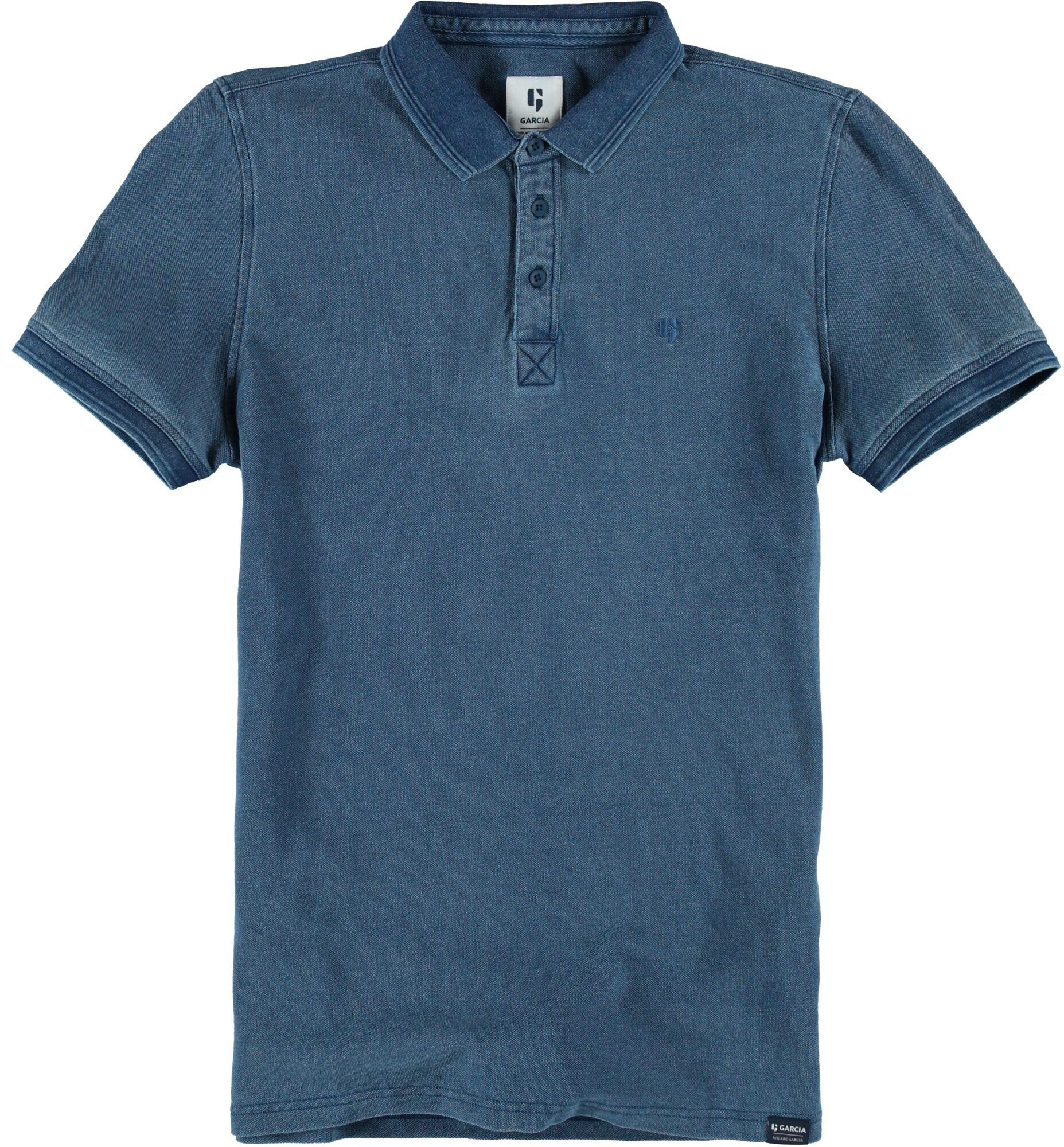 Garcia Blue Spring Polo Shirt