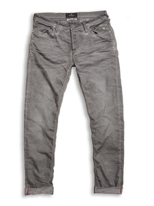 Blue de Genes Steel Grey Repi Oil Trousers