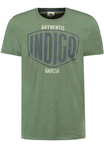 Garcia Authentic Indigo T-Shirt