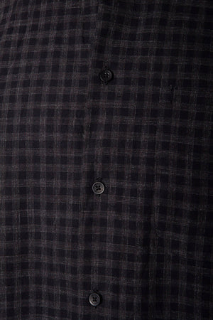 Hannes Roether Check Shirt