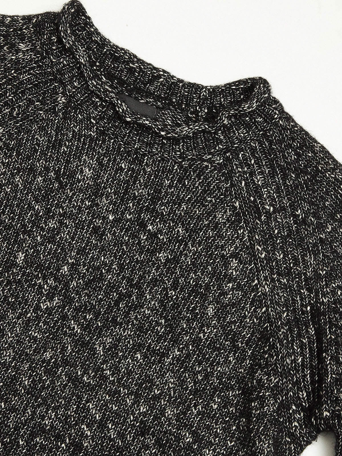 Blue de Genes Black Cenetiempo Knit