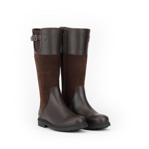 Aigle PARFIELD Dark Brown Leather Hunting Boot