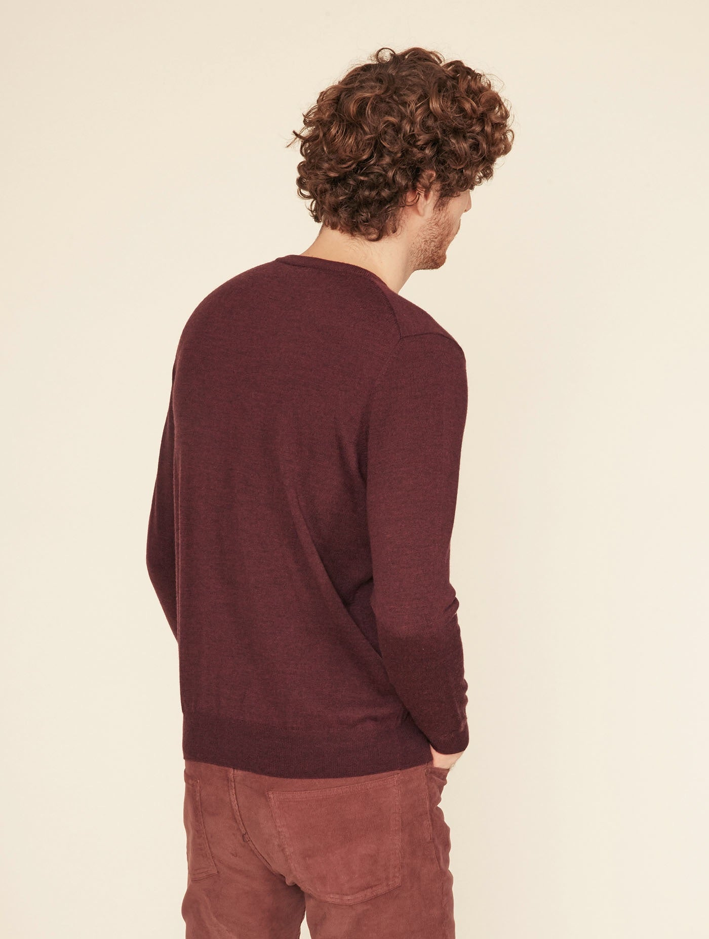 Aigle Sepia Merino Round Sweater - LAST ONE REDUCED!!