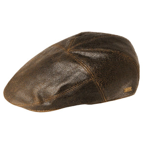 Bailey Leather Poet Cap