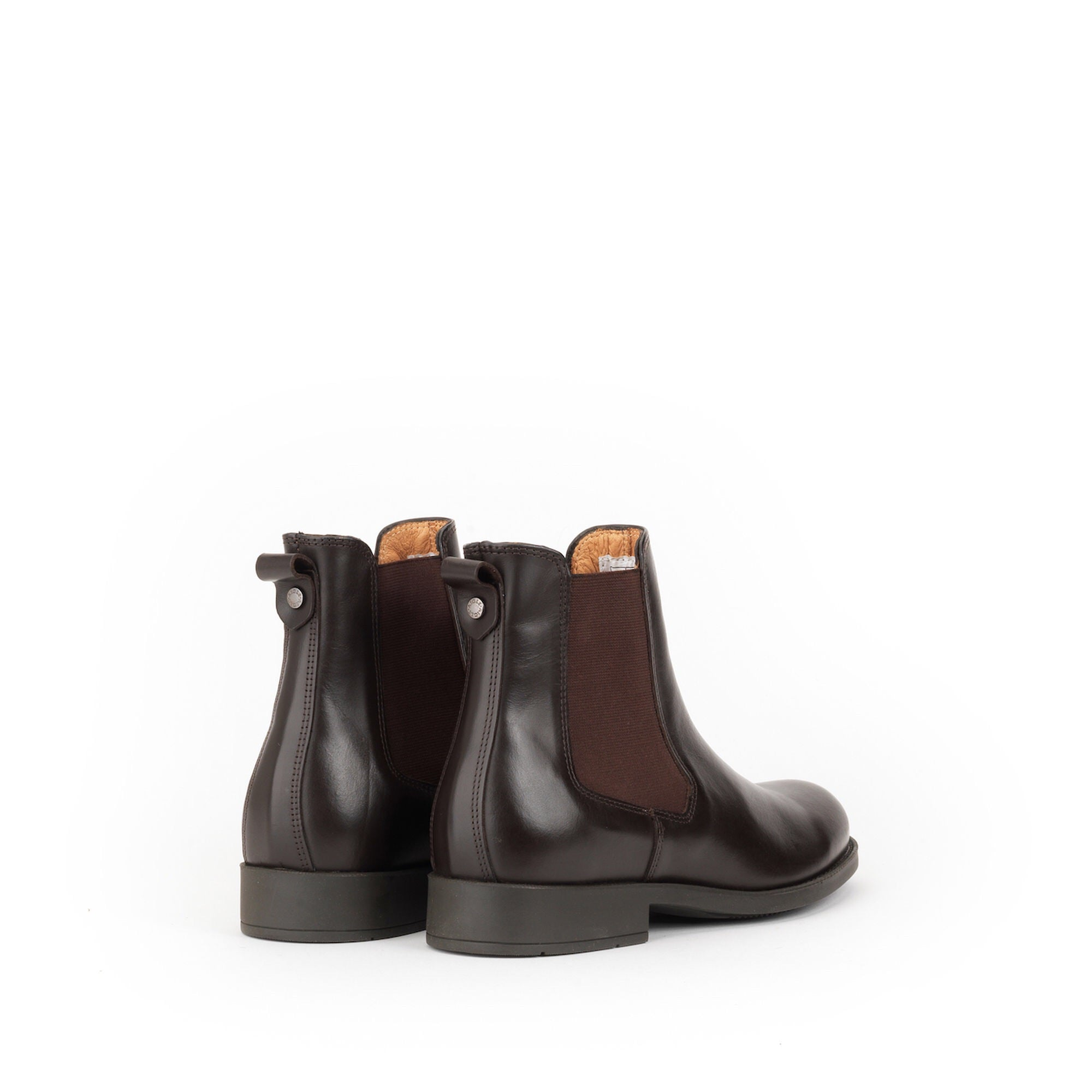 Aigle ORZAC Dark Brown Leather Chelsea Boot