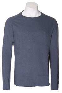 Hannes Roether Blue Knit Shirt