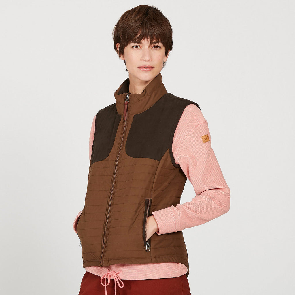 Aigle LUYNE LD Brown Bodywarmer