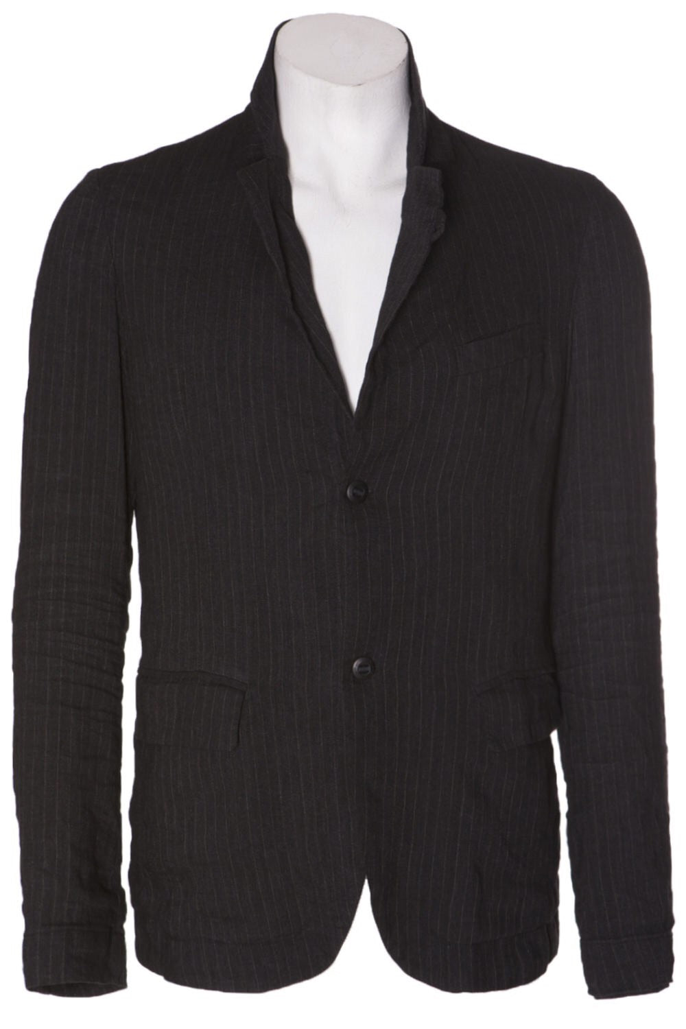 Hannes Roether Linen Pinstripe Jacket