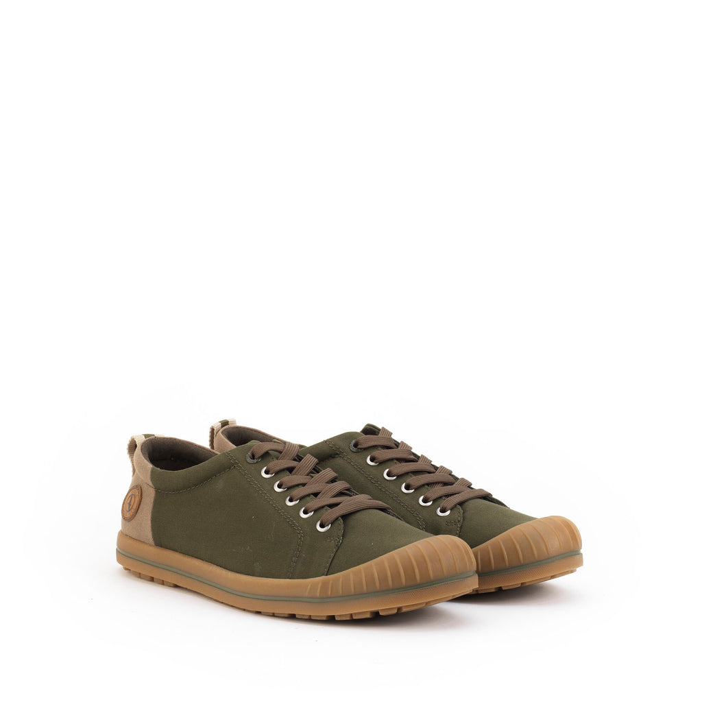 Aigle Khaki Caldono Lace-Up