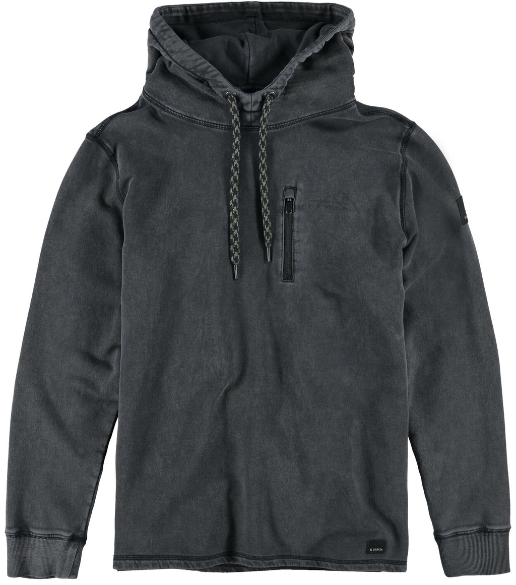 Garcia Black Hooded Sweatshirt