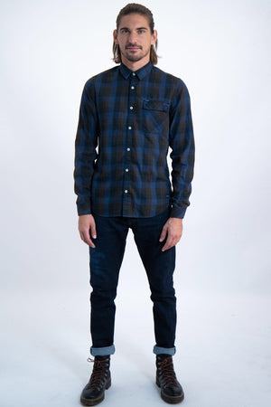 Garcia Amber Check Shirt - LAST ONE REDUCED!!