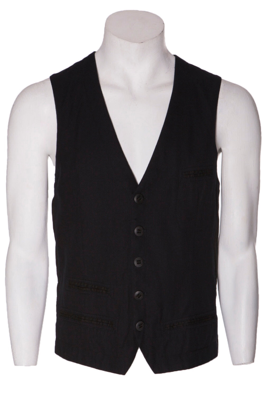 Hannes Roether Navy Waistcoat - LAST ONE!