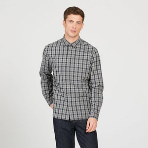 Aigle FOUDON Checked Cotton Shirt - LAST SIZES REDUCED!!