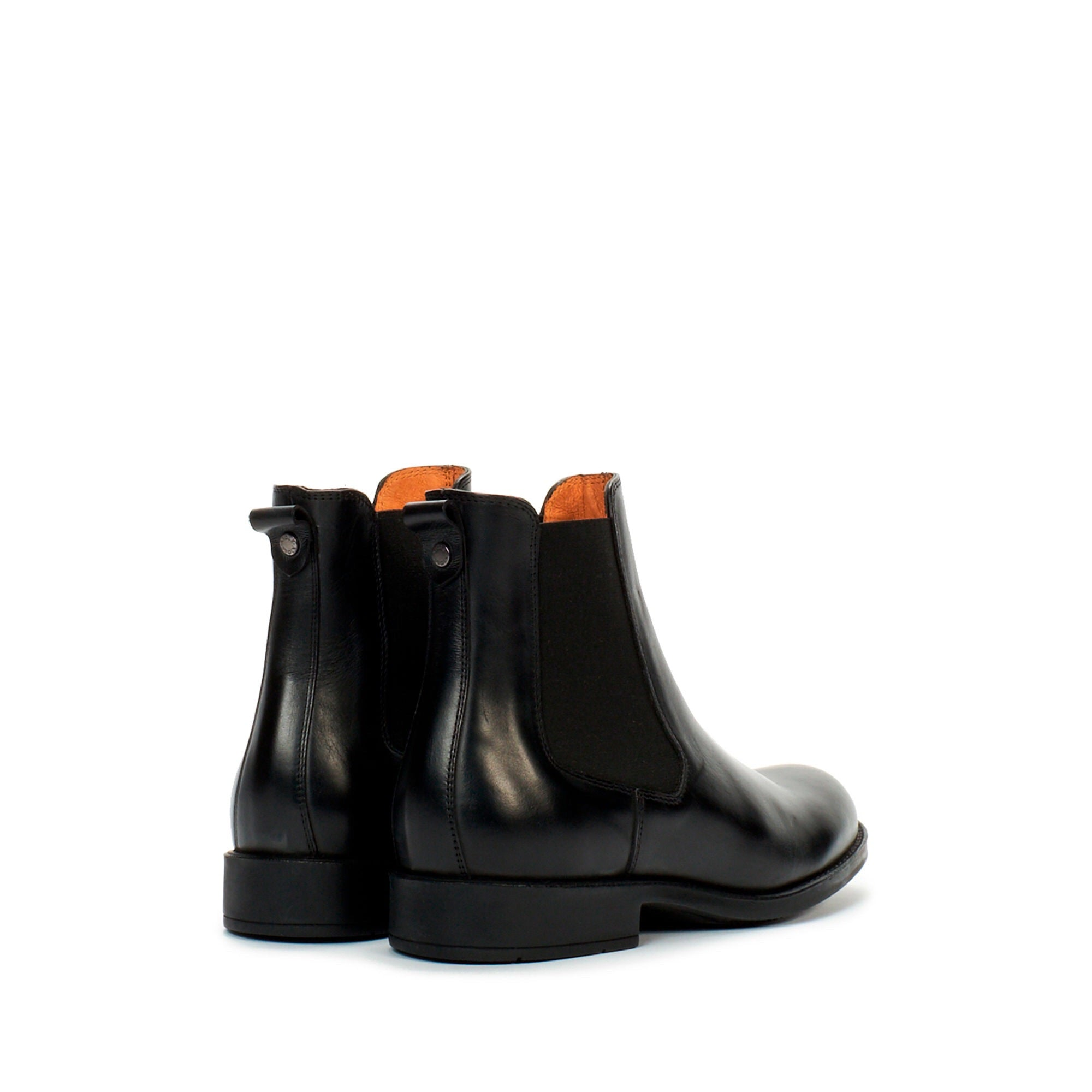 Aigle ORZAC Black Leather Chelsea Boot