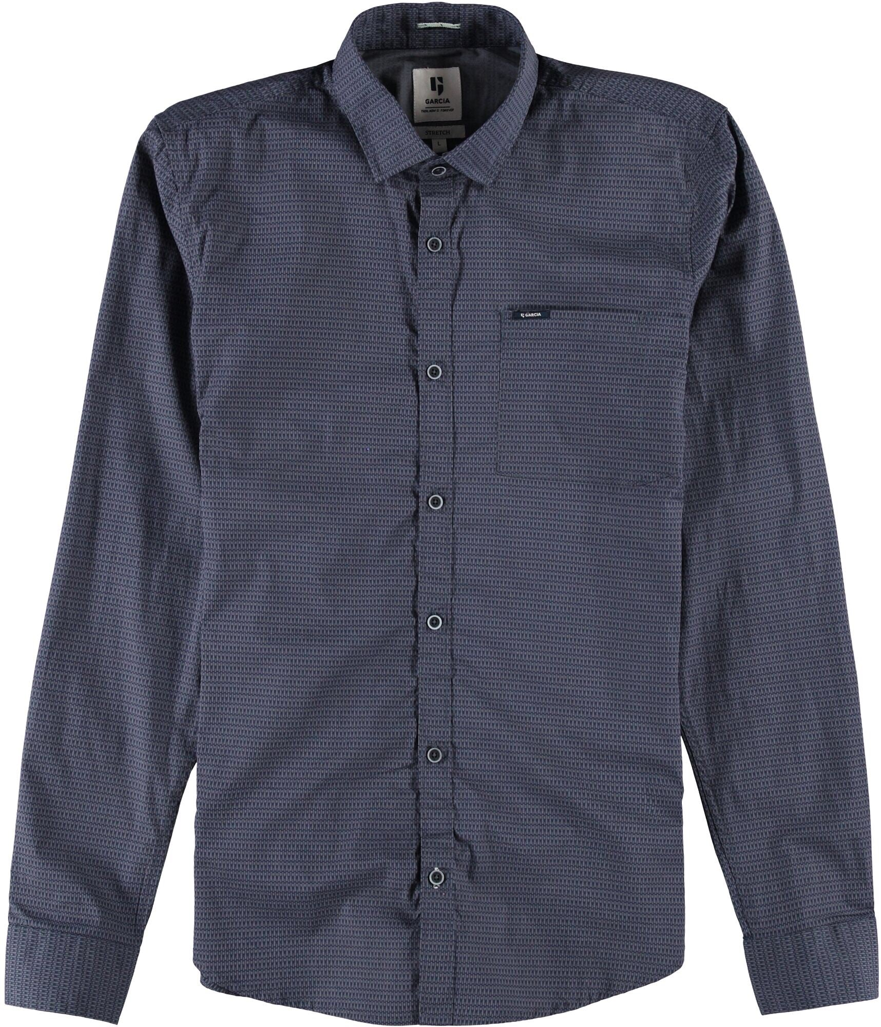 Garcia Men's Slate Long Sleeve Shirt