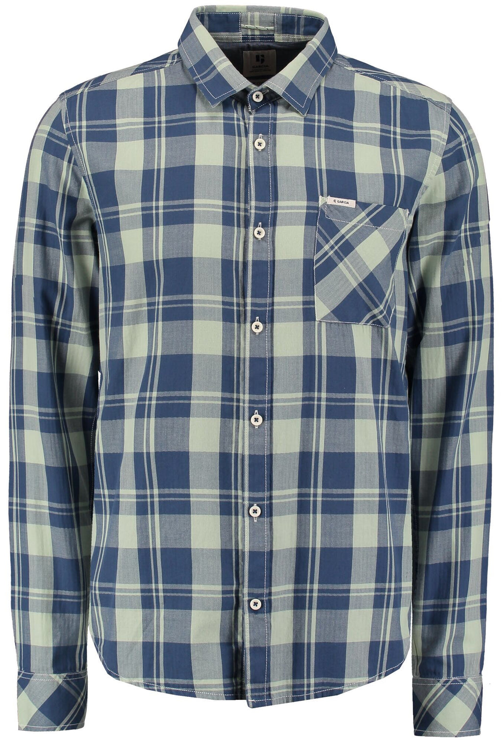 Garcia Hill Green Check Shirt -LAST ONE!