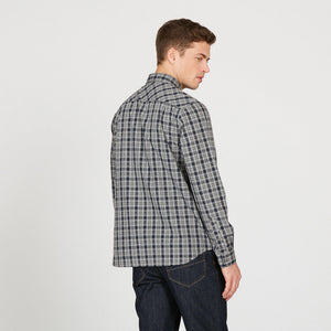 Aigle FOUDON Checked Cotton Shirt