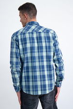Garcia Hill Green Check Shirt