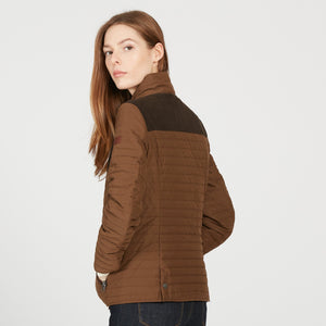 Aigle CHAUGUET LD Brown Jacket