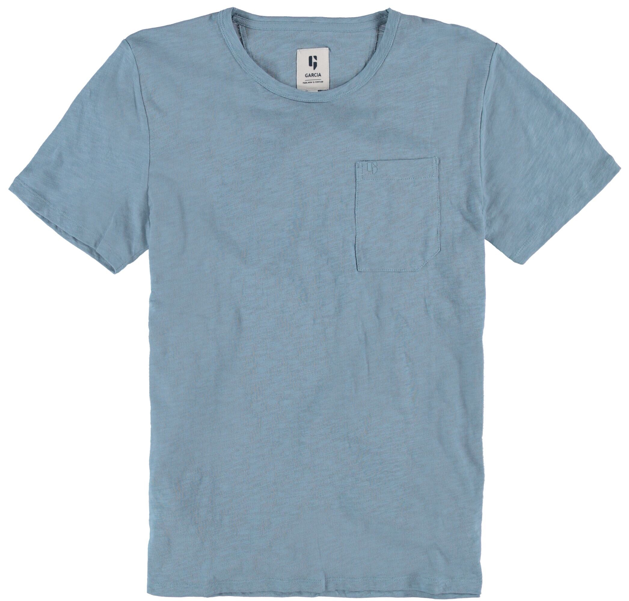 Garcia Organic Cotton Mineral-Blue T-Shirt