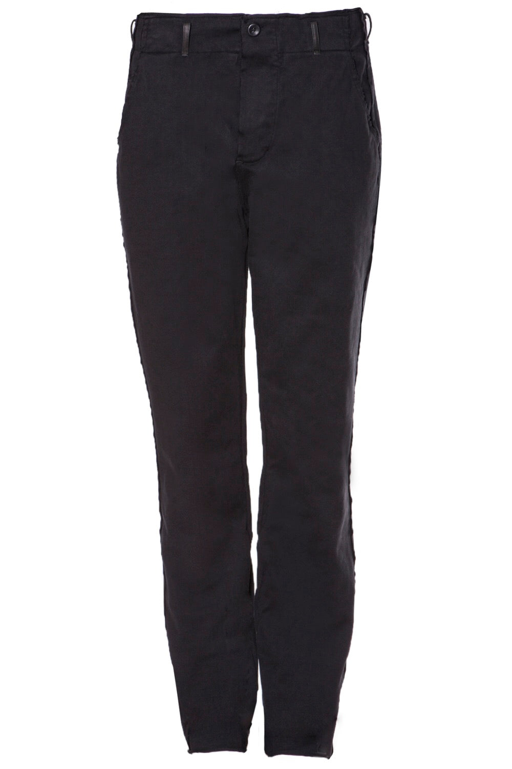 Hannes Roether Black Trouser