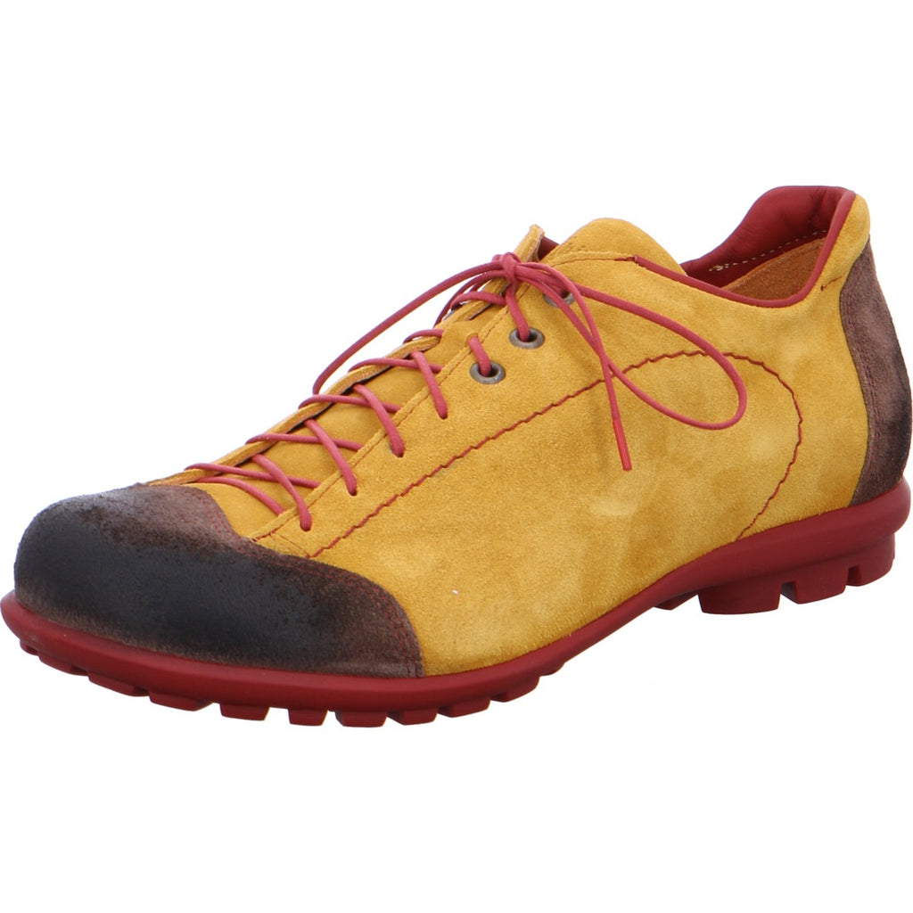 Think! Yellow Suede Shoe