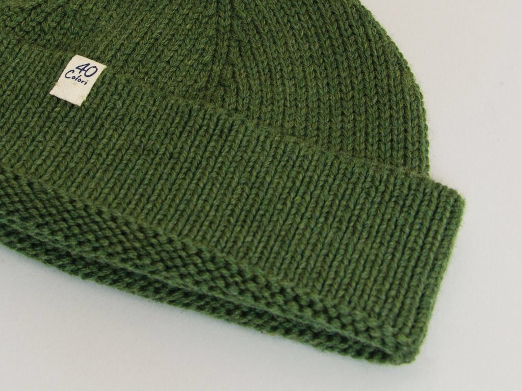 40 Colori Wool Fisherman's Beanie
