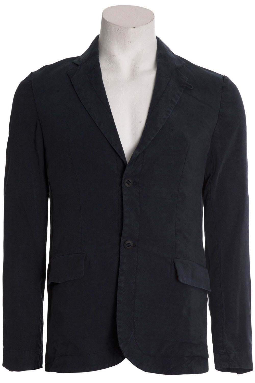 Hannes Roether Navy Linen Jacket