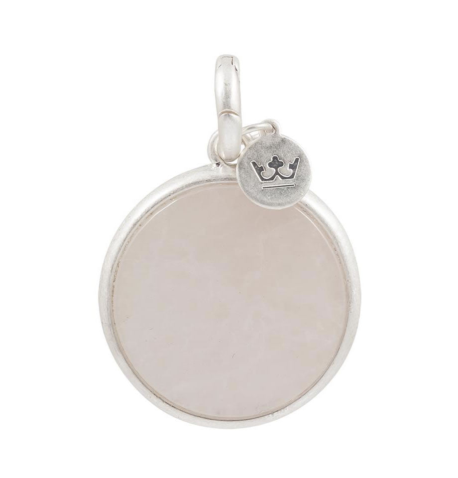 Sence Copenhagen Necklace Charm Rose Quartz Z507