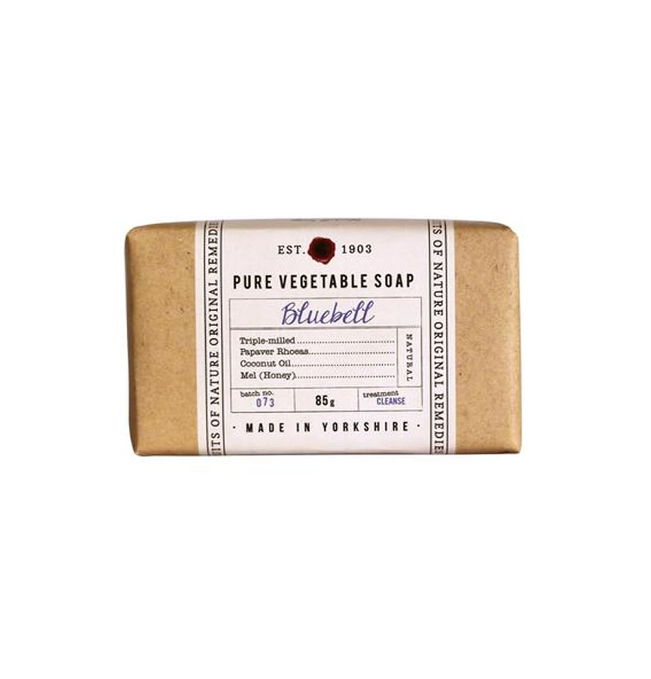 Fikkerts Bluebell 85g wrapped soap