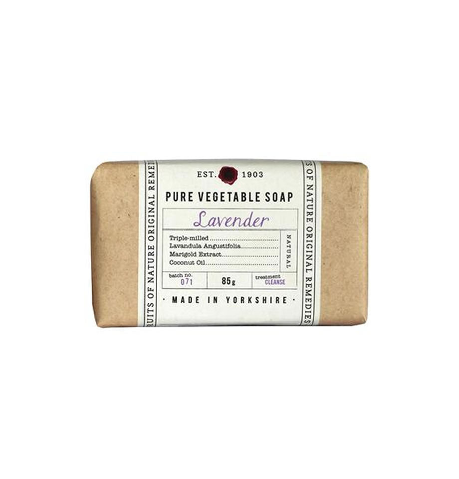Fikkerts Lavender 85g wrapped soap