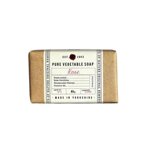 Fikkerts Rose 85g wrapped soap