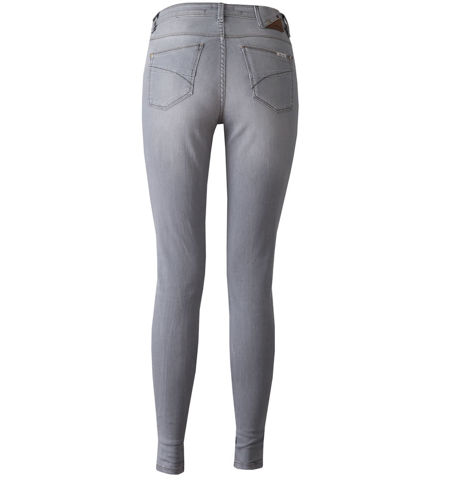Garcia Celia High Waist Superslim Jeans Medium Grey