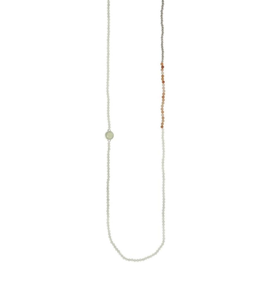 Sence Copenhagen Mindfulness Necklace New Jade P529
