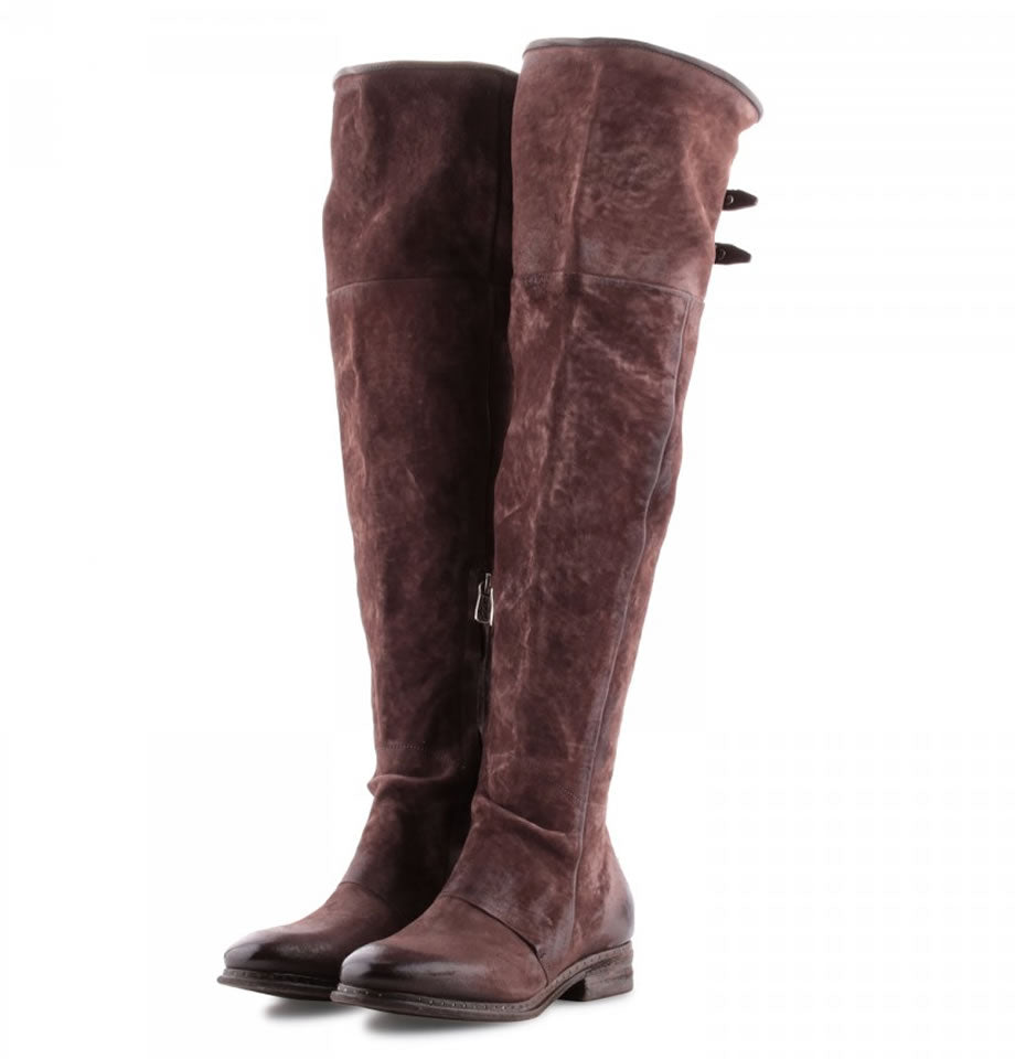 A.S.98 Over the Knee Fondante TDM Leather Boots Lena 228305