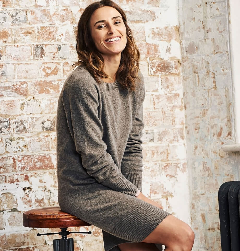 Celtic & Co Clothing - Supersoft Slouch Dress Teak