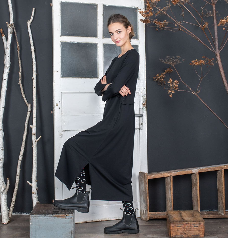 Mama B Daino Dress Nero