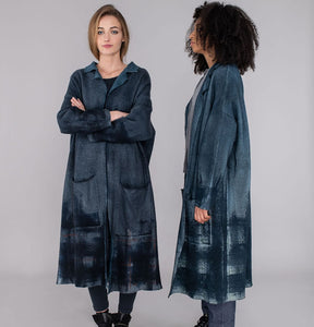 Mama B x Luparia Wool Cappero Nero Coat