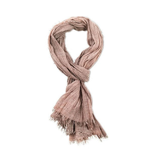 Pya Cotton Scarf Washed Khaki